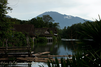Villa Escudero, overlooking Mt Makiling. I thought this is a very peaceful and serene place. Wow