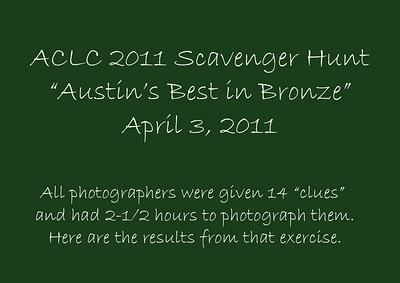 2011 Scavenger (Photo) Hunt