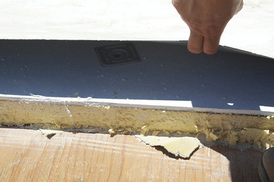Additional rigid insulation added to the exterior of the roof to bring the ceiling to R-30.