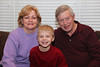 December 29 2011 Kyle and his grandparents<br /> <br /> Kyle needed a picture of himself with his grandparents for a school project. This is what we got yesterday.