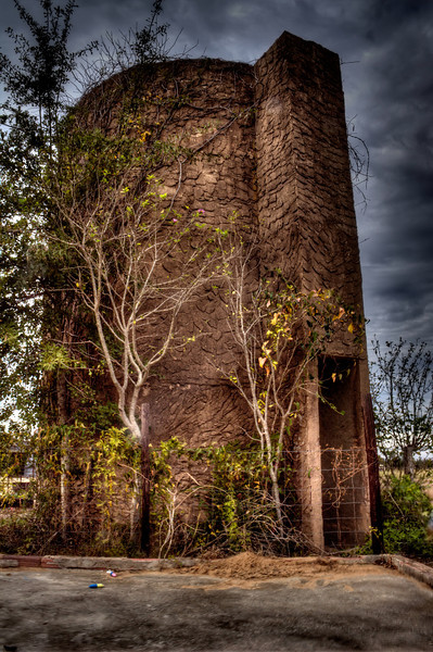 Creepy Looking Silo