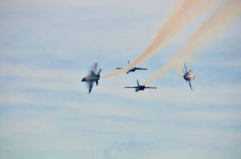 Blue Angels Practice