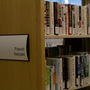 French? (10/25/2012)<br /> Desperate for a shot I tried the library. I couldn't read any French books and it didn't look like I remember. <br /> HAGD,<br /> -Bob