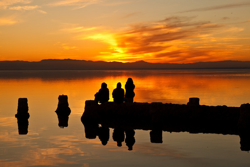 06/01/2012<br /> Watching Sunset over Salton Sea