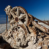6/03/2012<br /> After Flood: abandoned, salt-encrusted machinery on Bombay Beach, Salton Sea