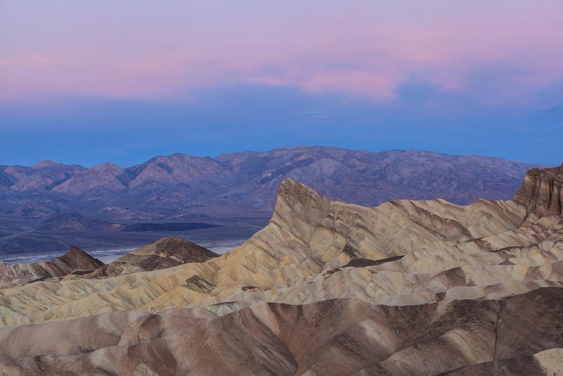 12/21/2012<br /> <br /> Zabriskie Point just before sunrise, Death Valley