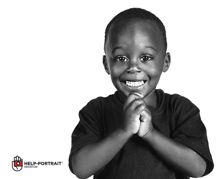 One of my favorite faces from this year's Help Portrait.