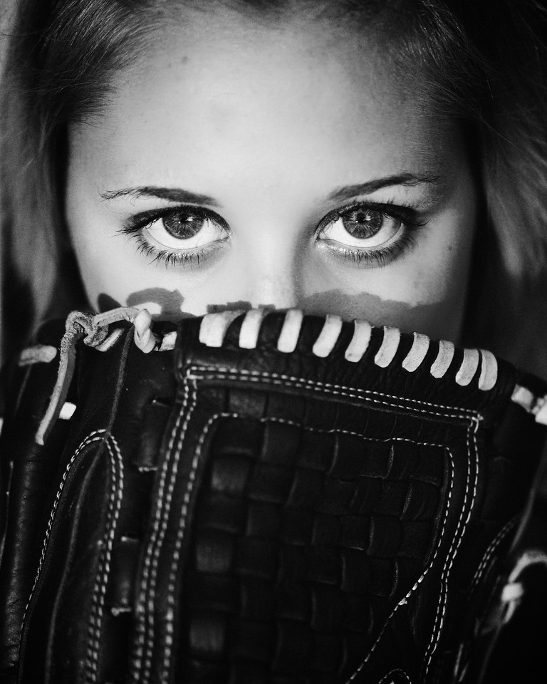 One of my favorite shots from a photoshoot with high school senior and softball player Lauren Swindell.