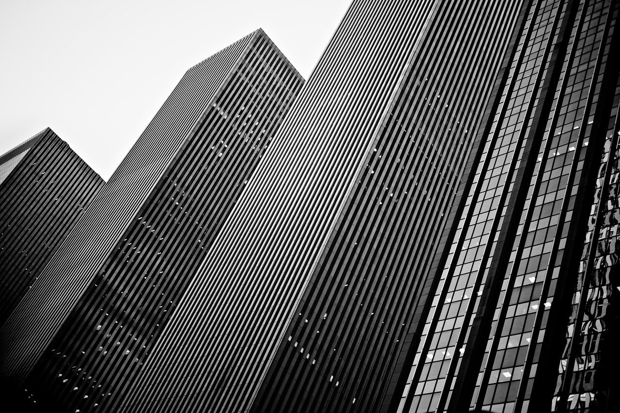 Buildings in NYC.