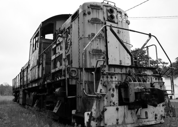 Rusty Locomotive, Salem, New Jersey