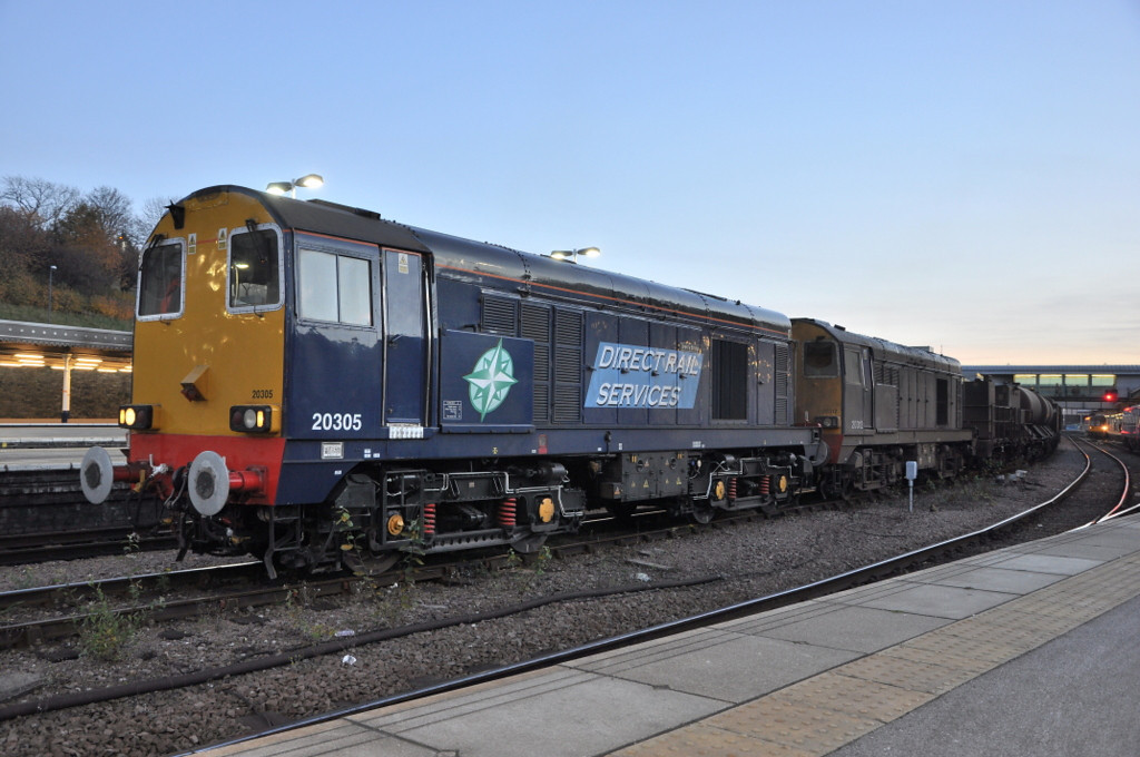 20305 and 20312, Sheffield. 15/11/12.
