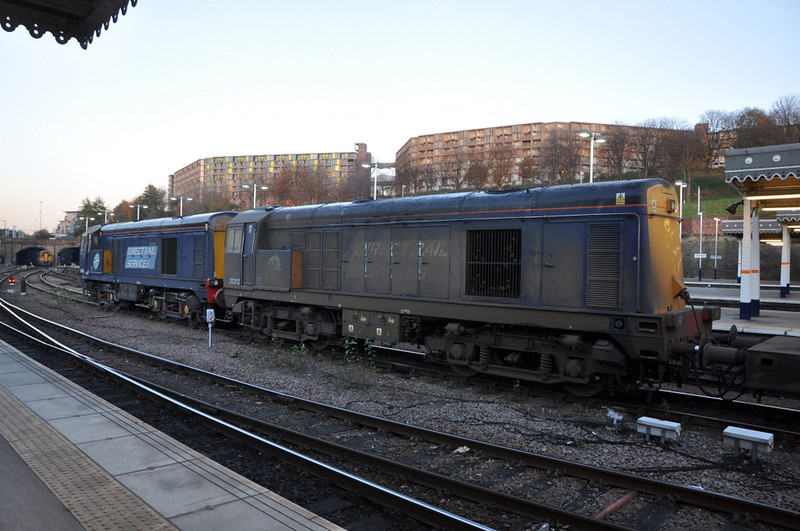 20312 and 20305, Sheffield. 15/11/12.