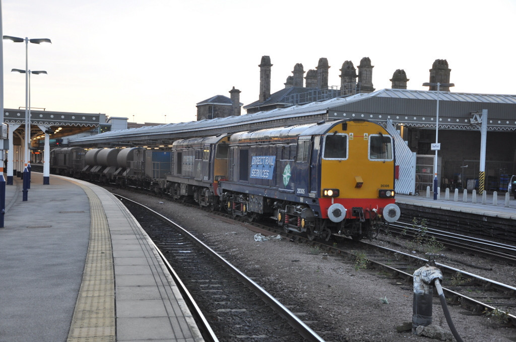 20305, 20312 and 20303, Sheffield. 15/11/12.