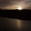 moonset over horsetooth rock, colorado