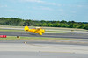 """7Apr12  local icons: sky tourist biplane, dekalb peachtree airport, and stone mountain.  KPDK is the 2nd busiest airport in georgia, behind ATL, busiest in the world.  <a href=""""http://carpelumen.smugmug.com/Photography/2011/April11/16045181_QjLmWm/2/1243646339_8XmV4/Medium"""">one year ago.</a>  f/11, 1/500s, iso 400."""