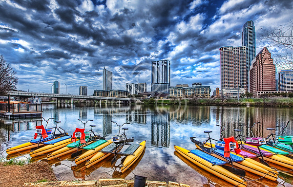 20120203 Austin Skyline
