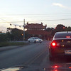 Stoplight at Lamar and Yeager..Pagoda in background...