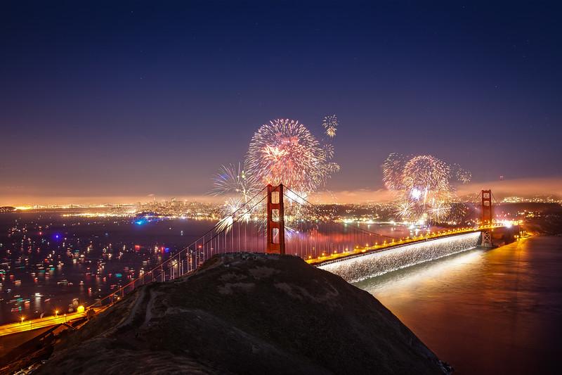 July - Golden Gate Bridge 75th Anniversary