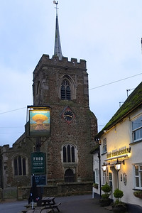 Wheatsheaf and Church