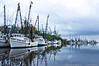 (17Apr13)<br /> <br /> shrimp boat fleet, darien, georgia.<br /> <br /> f/11, 1/50s, iso 100.