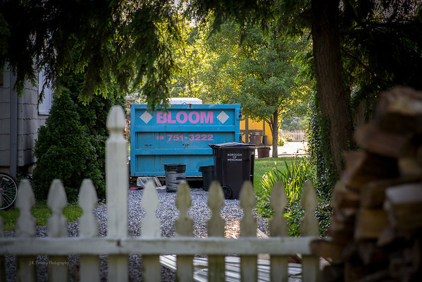 """Our """"Bloom"""" dumpster"""
