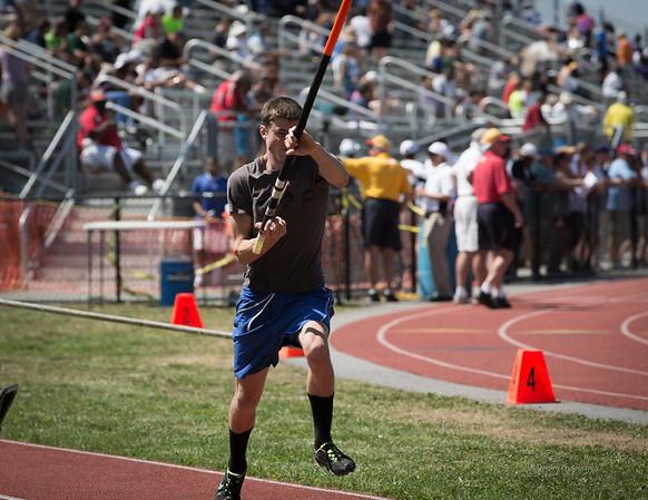 Alex makes a practice run