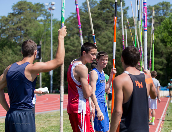 Group 1 State Pole Vault Championship at Egg Harbor Township High School
