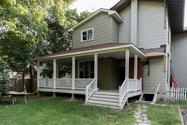 Back porch progress