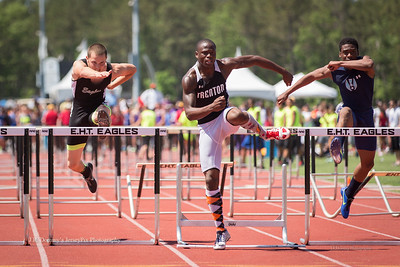 100 Boys High Hurdles - Group IV State Championship