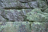 (15Oct13)<br /> <br /> lichen covered rock.<br /> <br /> f/8, 1/200s, iso 1250.