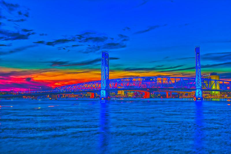 Blue Bridge Sunset 2