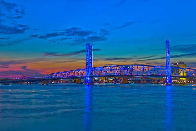 Blue Bridge Sunset
