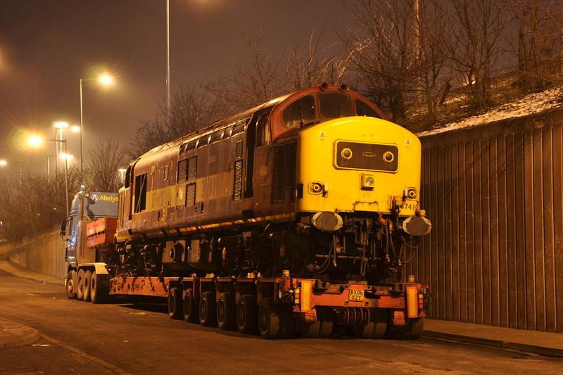 37410, C F Booth, Rotherham. 16/01/13.