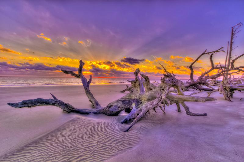 Wrinkle Sand Sunrise