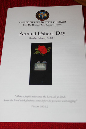 2014 ASBC Annual Ushers Day