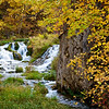 September photo used in my 2014 wall calendar. Taken in Lawrence County, South Dakota. Roughlock Falls.