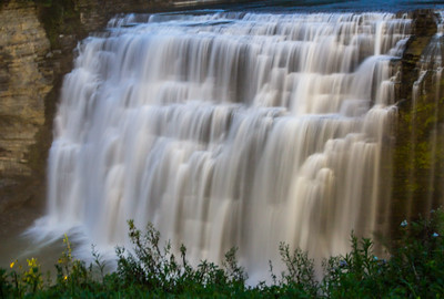 Waterfalls at Letchworth State Park