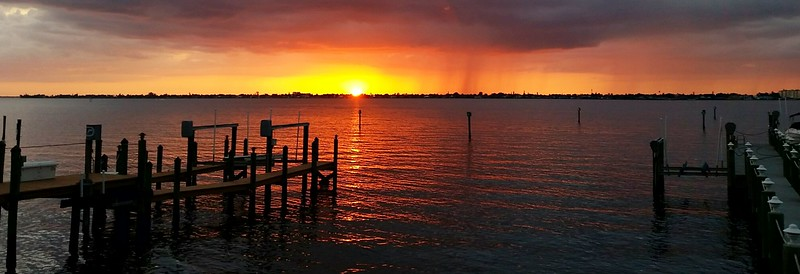 March 2 2015 We finally saw the sun. <br /> Fort Myers Florida.  Shot with my cell phone.