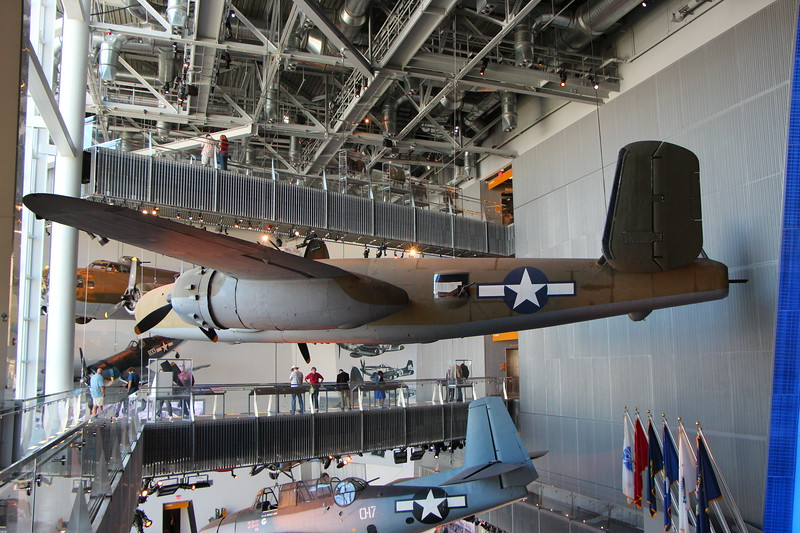 January 27 2015 WWII Museum<br /> <br /> Last October we went to the WWII Museum in New Orleans. They built a new wing (since our last visit) to house airplanes.  It was pretty impressive.