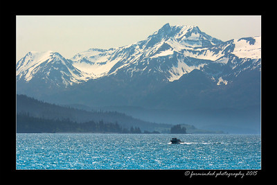 Kachemak Bay Viewed from Homer, Alaska
