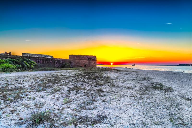 TM Fort Clinch Sunset
