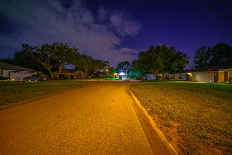 Street Night Photo 12mm f/5.6