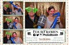 Tigh Na Mara in the booth with Four Frames Photo. Vancouver's Island's finest photo booth rental company.