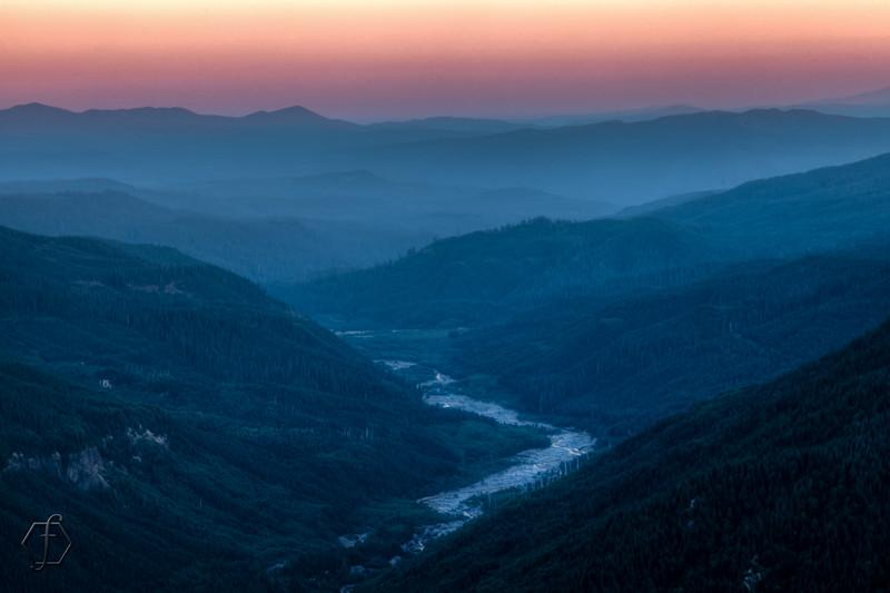St. Helen's Sunset