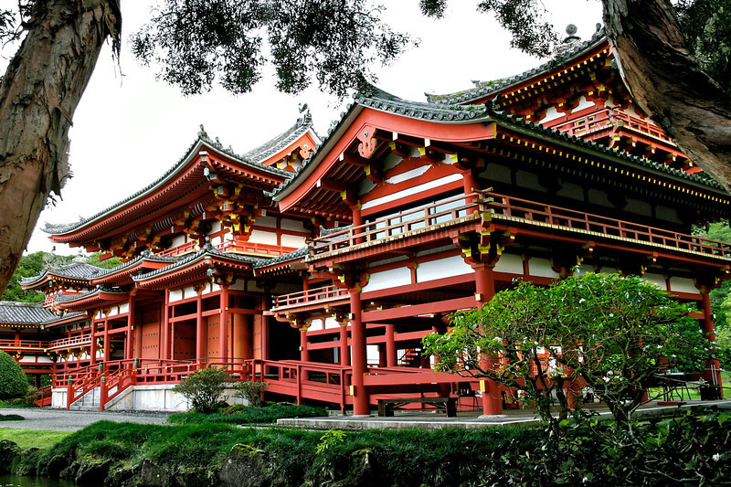 Byodo-In Buddhist temple- Oahu, Hawaii