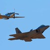 US Air Force F-22 Rapter & P-51 Heritage Flight , Wings Over Wine Country Air Show.jpg