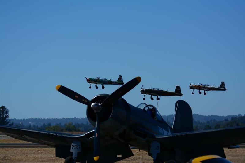 Warbird Flyover