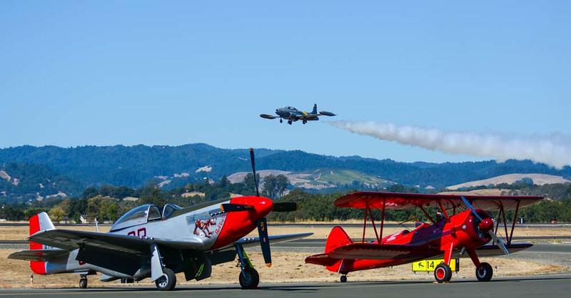 Acemaker T-33 Flyover