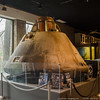 27 Jan 2016<br /> <br /> apollo 6 command module, fernbank science center, dekalb county, ga.<br /> <br /> this module was unmanned in its flight, used as a test to the design's worthiness during re-entry. there were issues, but it was able to complete its mission.<br /> <br /> today marks the anniversary of the apollo 1 disaster, in which Grissom, White, and Chaffe died (1967).<br /> <br /> f/8, 1/30s, iso 800.