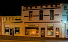 16 Mar 2016<br /> <br /> lineville emporium at night.<br /> <br /> f/4, 1/5s, iso 200.